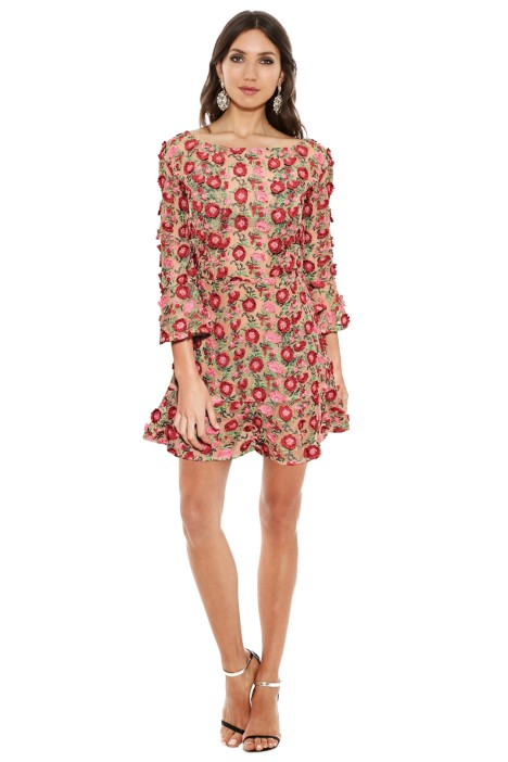For Love & Lemons - Amelia Swing Dress - Front