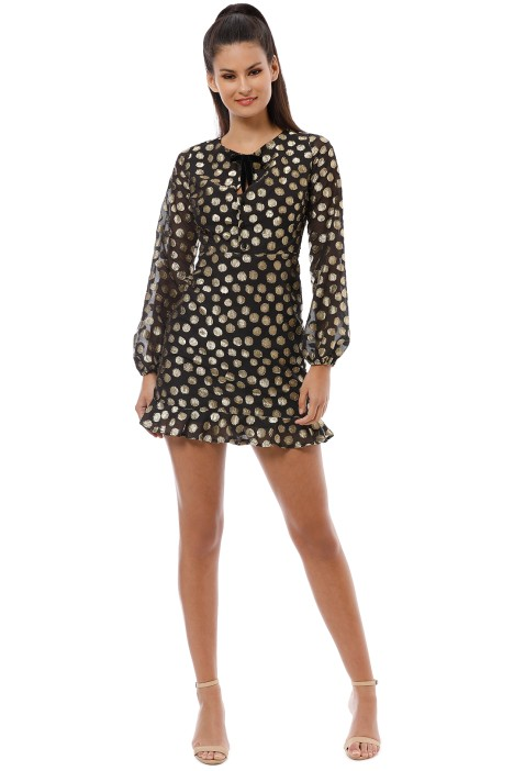 For Love and Lemons - Lottie Bell Sleeve Dress - Front