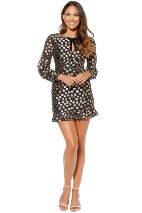 For Love and Lemons - Lottie Bell Sleeve Dress - Front