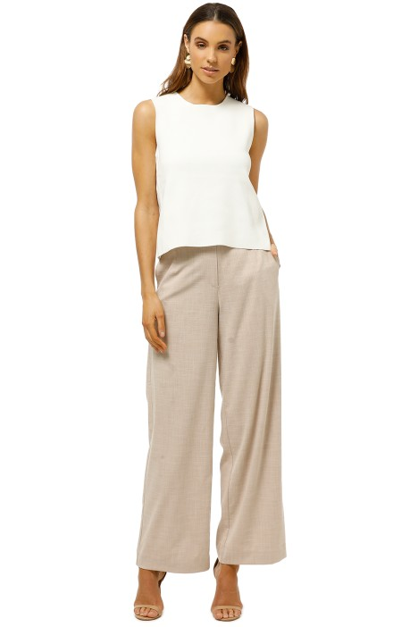 Friend-of-Audrey-Minimalist-Cross-Back-Top-White-Front