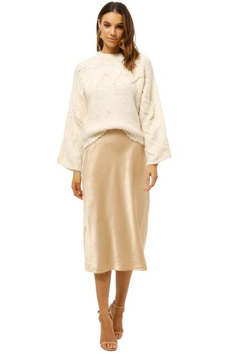 Friend-of-Audrey-Paige-Bias-Midi-Skirt-Champagne-Front