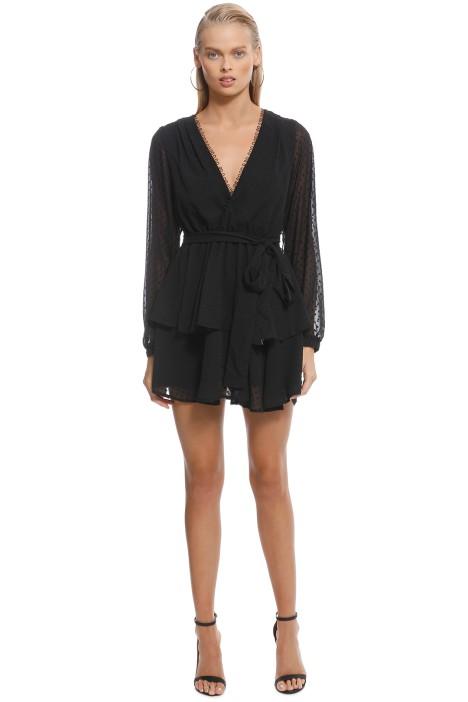 Friend of Audrey - Ines Rouleau Dress - Black - Front