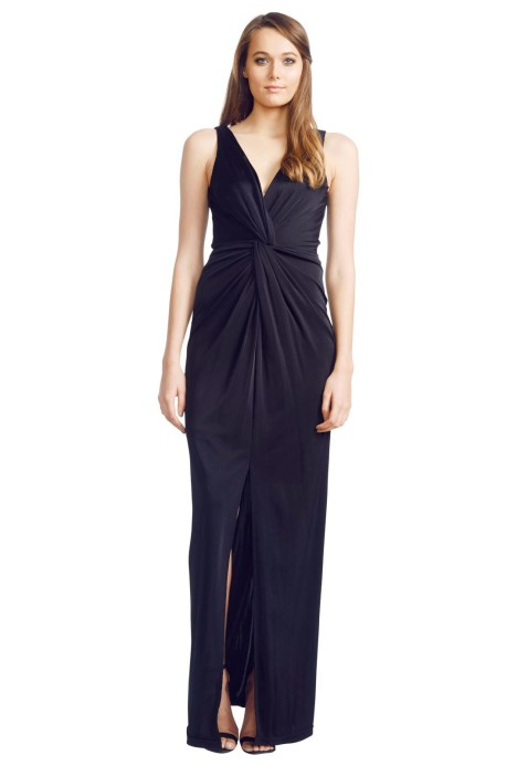 George - Carulli Gown - Front - Black