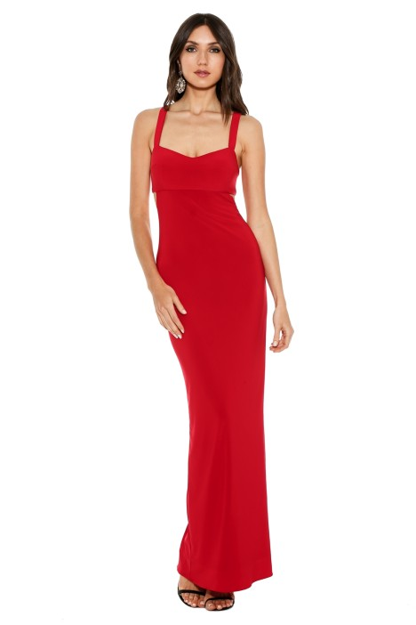 George - Jamelia Dress - Red - Front