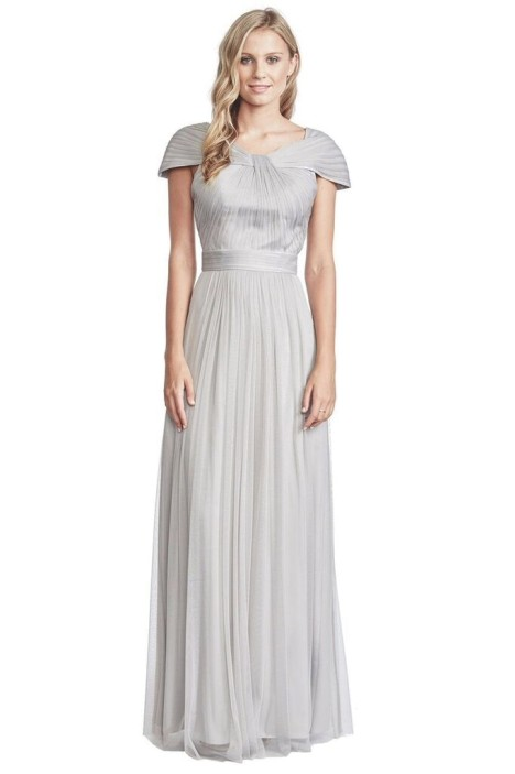 George - Lionel Gown - Grey - Front