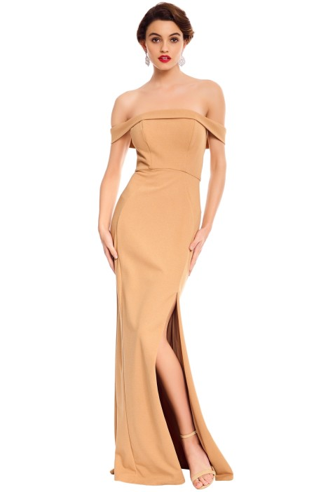 George - Lola Gown - Nude - Front