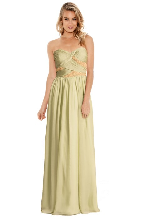 George - Romeo Gown - Green - Front
