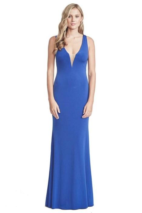 George - Sansa Gown - Blue - Front