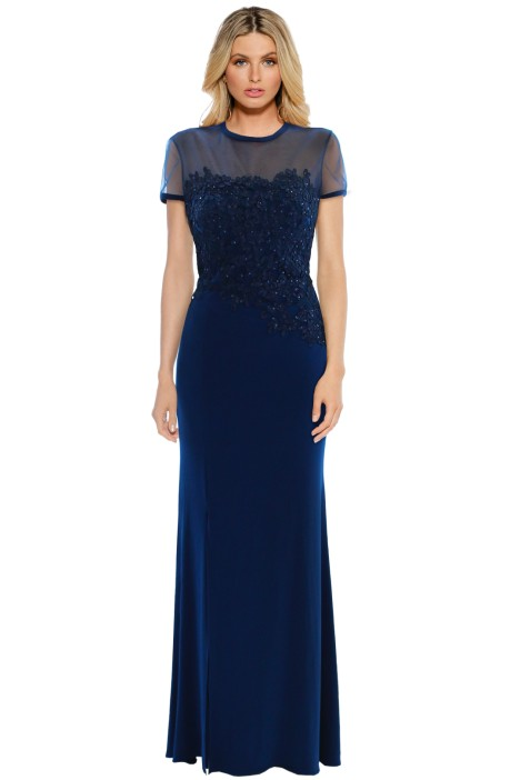 George - Seraphina Gown - Blue - Front