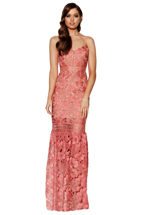 Grace and Hart - Serene Gown - Rose - Front