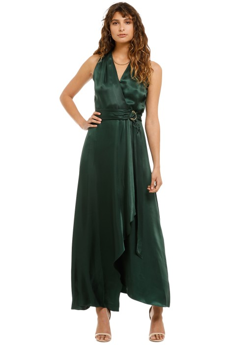 Ginger-And-Smart-Sonorous-Wrap-Dress-Forest-Front