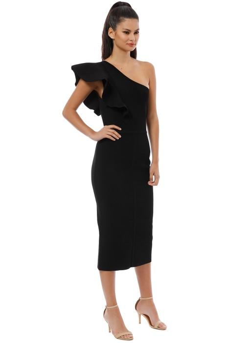 65ebd372b006 Ginger and Smart - Anchor One Shoulder Dress - Black - Side