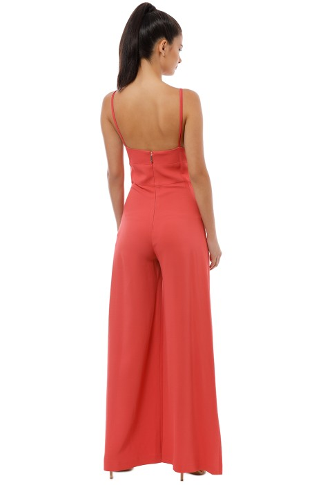 9d8f6409e922 Drift Jumpsuit in Coral by Ginger   Smart for Rent
