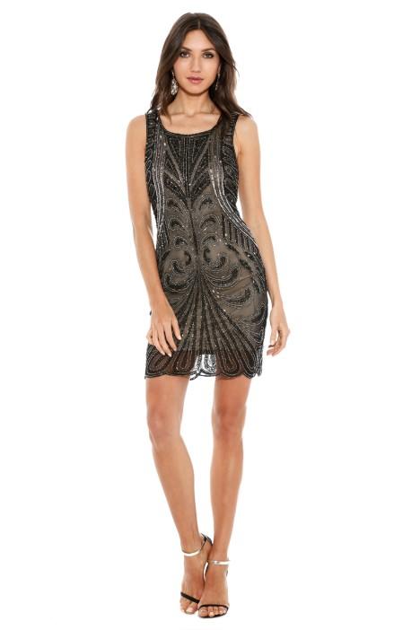 Grace and Blaze - Gatsby Dress - Front - Black