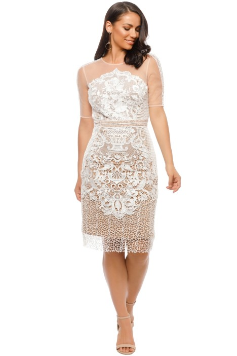 Grace and Hart - Adele Midi - White - Front