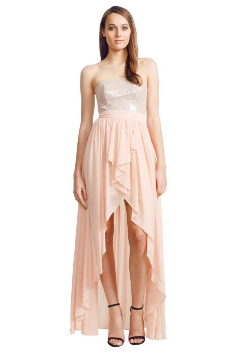 Grace and Hart - Athena Dress - Front - Pink