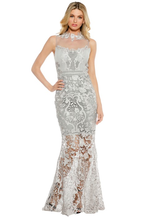 Grace & Hart - Breathless Love Gown - Grey - Front