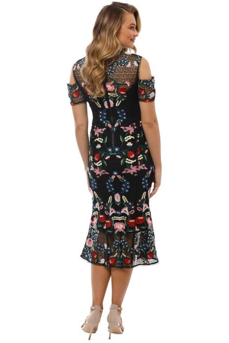 2bb600d346d2 Grace and Hart - Cavalier Cold Shoulder Dress - Black - Back