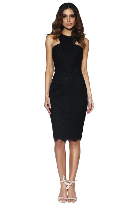 Grace & Hart - Embrace Fitted Midi - Front