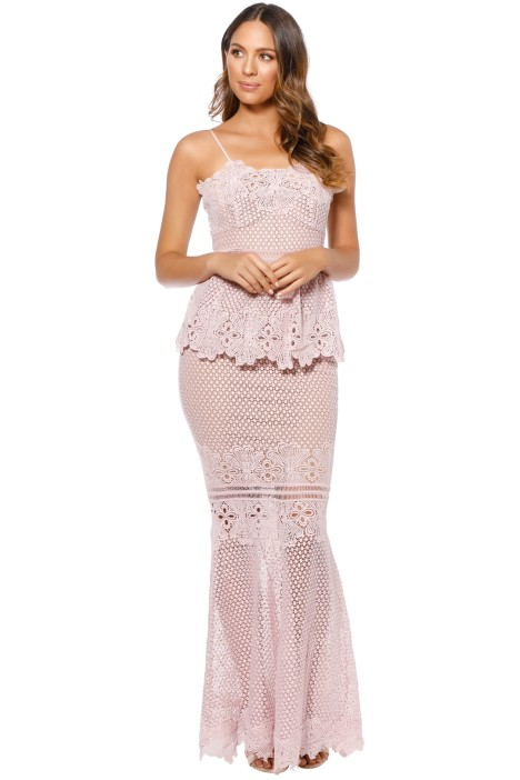 Grace and Hart - Frilling Around Gown - Lilac - Front