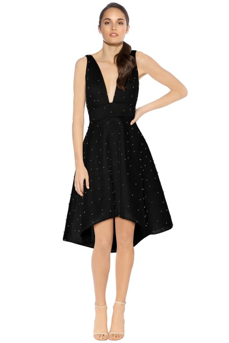 Grace and Hart - Groove Armada Fit n Flare - Black - Front