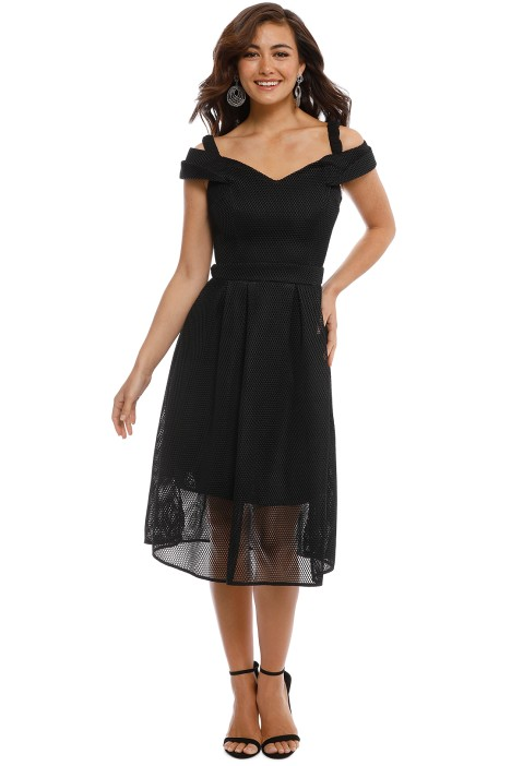 Grace and Hart - Hypnotic Floaty Dress - Black - Front