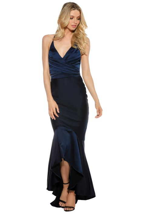 Grace and Hart - Juliets Delight Gown - Navy - Front