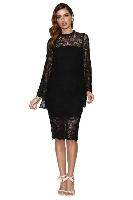 Grace & Hart - Majestic Dress - Black - Front