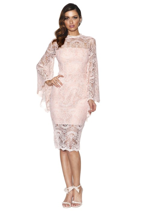 Grace & Hart - Majestic Dress - Blush - Front