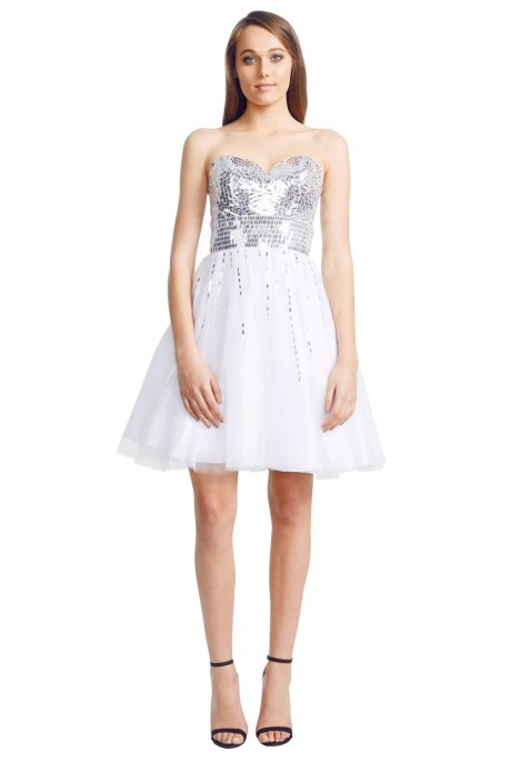 Grace and Hart - Moulin Dress - White - Front