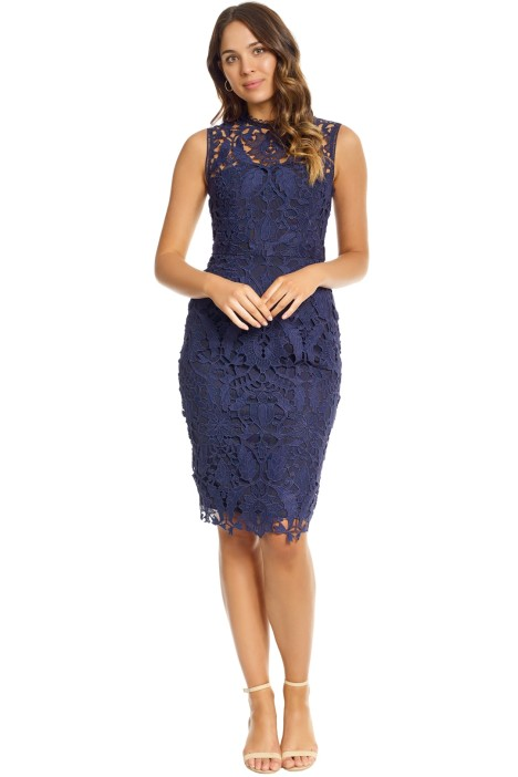 Grace and Hart - Prosecco Dress - Navy - Front