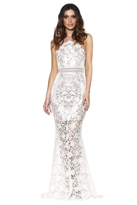 Grace and Hart - Renaissance Gown - White - Front