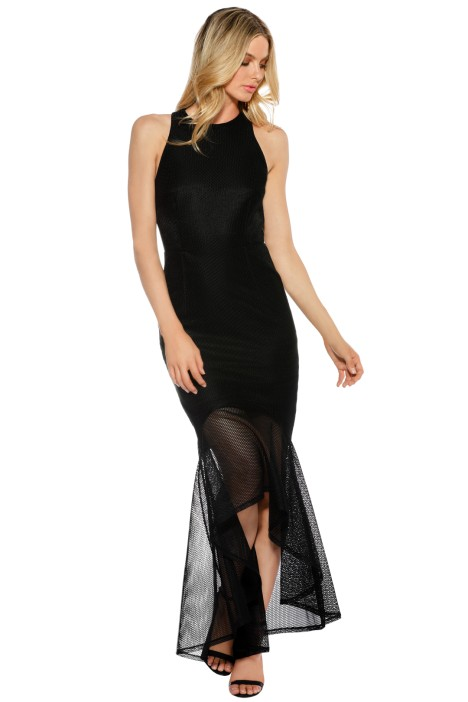 Grace & Hart - Stand Alone Gown - Black - Front