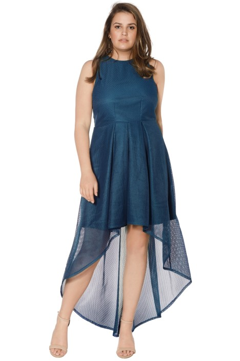 Grace & Hart - Stand Alone Midi - Teal - Side