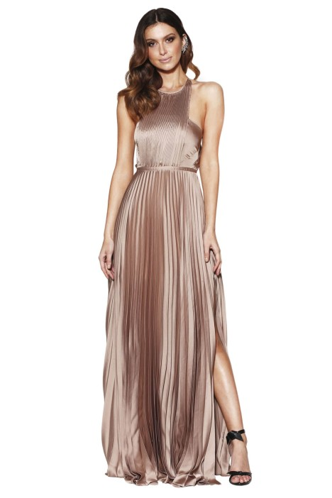 Grace and Hart - Status Gown - Latte - Front