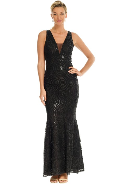Grace and Hart - Tales and Spirits Gown - Black - Front