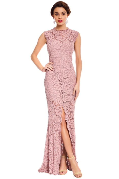 Valentine Gown in Mushroom by Grace & Hart for Hire