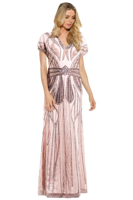 Grace & Blaze - Atlantis Gown - Blush - Front