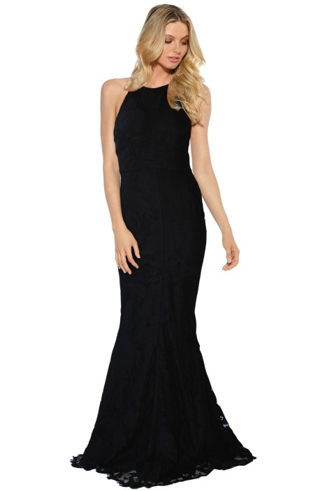 Grace & Hart - Allure Gown - Black - Front