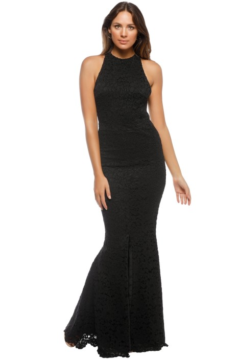 Grace & Hart - Embrace Gown - Black - Front