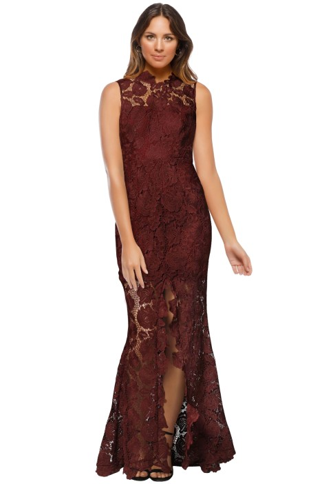 Grace & Hart - Espresso Gown - Red - Front