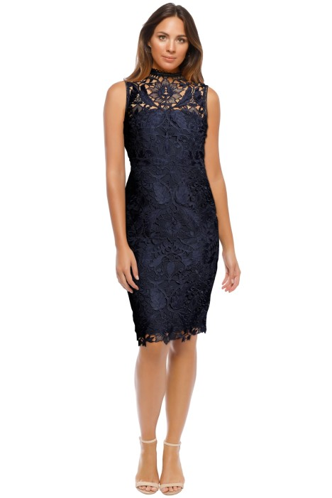 Grace & Hart - Prosecco Dress - Navy - Front
