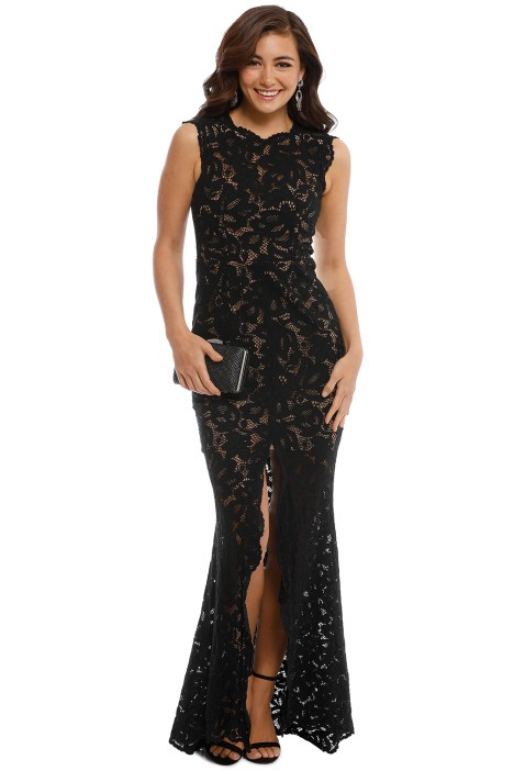 Grace and Hart - Valentine Gown - Black - Front
