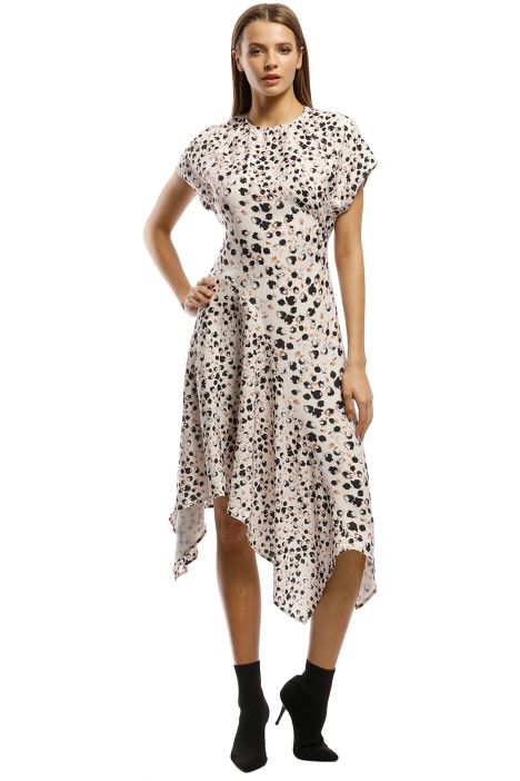 Grace Willow - Hunter Dress - Spot Multi - Front