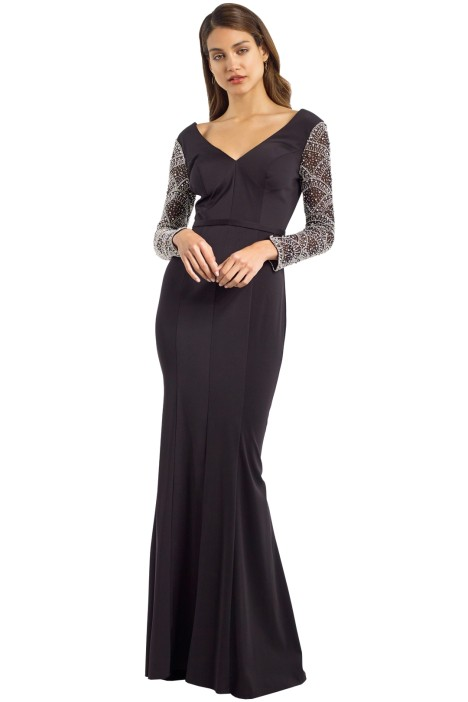 Jadore - JX050 - Elizabeth Gown - Black - Front