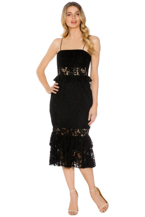 Jay Godfrey - Halifex Dress - Black - Front