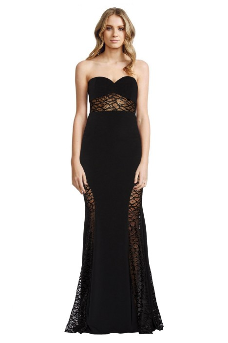 Jay Godfrey - Lott Maxi Dress - Black - Front