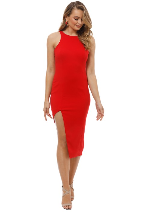Jay Godfrey - Pine Dress - Red - Front