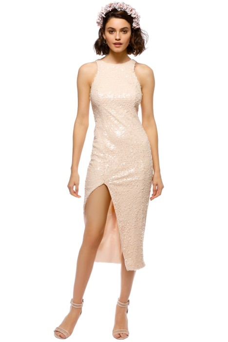 Jay Godfrey - Rhine Dress - Nude - Front
