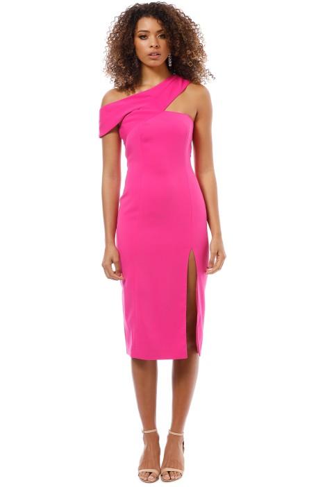 Jay Godrey - McKoy Midi Dress - Bright Fuchsia - Front
